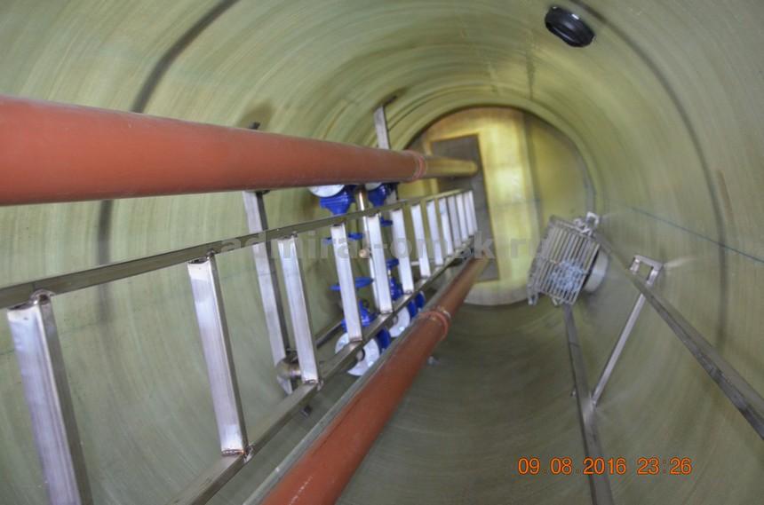 Расчет канализационной насосной станции